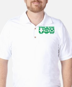 Rethink The Future, Recycle Golf Shirt
