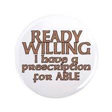 "Cool Ready able 3.5"" Button (100 pack)"