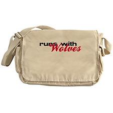 Runs With Wolves Messenger Bag