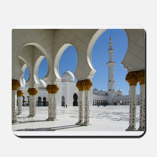 Grand Mosque Porticoes Mousepad