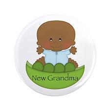 "New Grandma (AA Boy) 3.5"" Button"