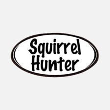 Squirrel Hunter Patches