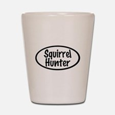 Squirrel Hunter Shot Glass
