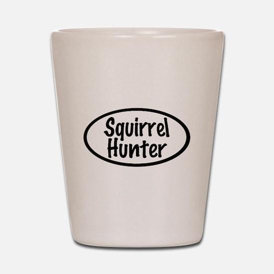 Squirrel Hunter Shot Glass