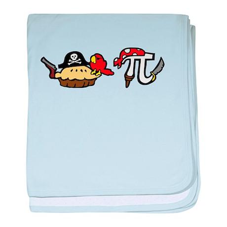 Pi & Pie Pirates baby blanket