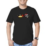 Pi & Pie Pirates Men's Fitted T-Shirt (dark)