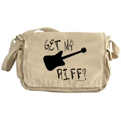 GUITAR PLAYER Messenger Bag