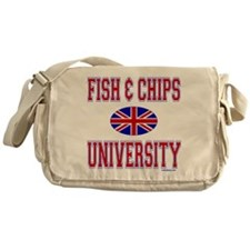 FISH AND CHIPS Messenger Bag