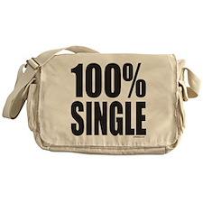 100% SINGLE Messenger Bag