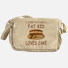 Cute Valentines day kids Messenger Bag