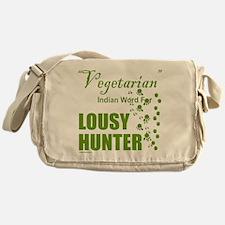 LOUSY/BAD HUNTER Messenger Bag