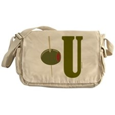 OLIVE U (I LOVE YOU) Messenger Bag
