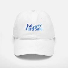 Eat Sleep Yard Sale Baseball Baseball Cap