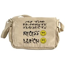 LUNCH AND RECESS Messenger Bag
