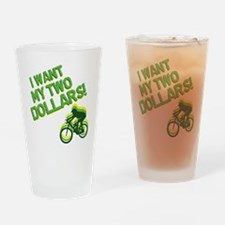 Better Off Dead Drinking Glass