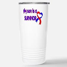 Son CHD Survivor Stainless Steel Travel Mug