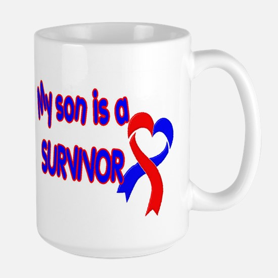 Son CHD Survivor Large Mug