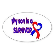 Son CHD Survivor Decal