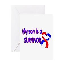 Son CHD Survivor Greeting Card