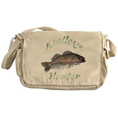 Walleye Hunter Messenger Bag