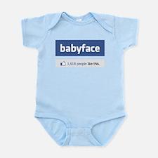 babyface funny parody Infant Bodysuit