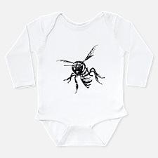 Bee Long Sleeve Infant Bodysuit