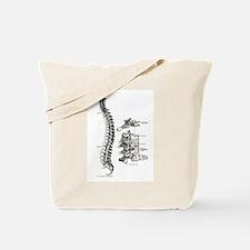 spine Tote Bag