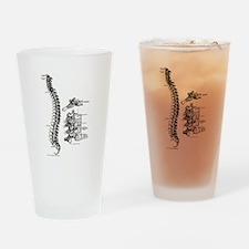 spine Drinking Glass