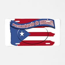 Cool Borinquen Aluminum License Plate