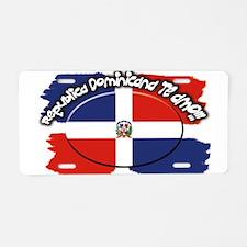 REP. DOMINICANA Aluminum License Plate