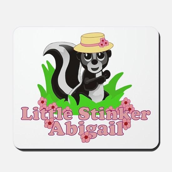 Little Stinker Abigail Mousepad