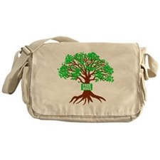 Free Tree Hugs Messenger Bag