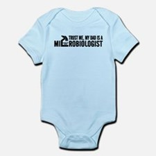 Microbiologist Dad Infant Bodysuit