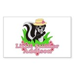 Little Stinker Addison Sticker (Rectangle 10 pk)