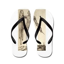 artistic body Flip Flops