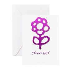 Flower girl Greeting Cards (Pk of 10)