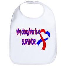 Daughter CHD Survivor Bib