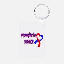 Daughter CHD Survivor Keychains