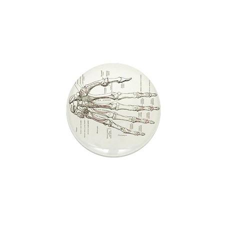 hand anatomy Mini Button (10 pack)