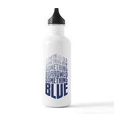 Old New Borrowed Blue Sports Water Bottle