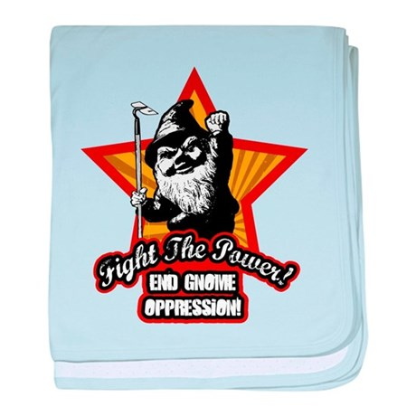 Fight The Power Gnome baby blanket