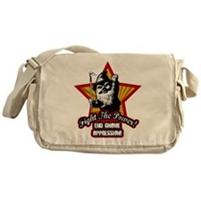 Fight The Power Gnome Messenger Bag