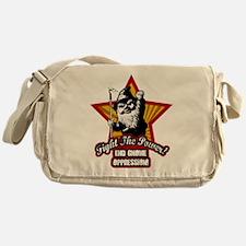 Fight The Power Gnome Messenger Bag