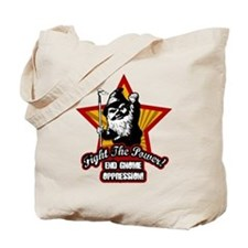 Fight The Power Gnome Tote Bag
