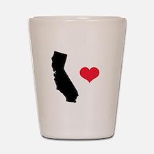 California Love Shot Glass