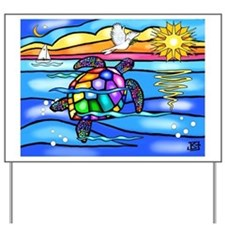 Sea Turtle #8 Yard Sign