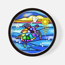 Sea Turtle #8 Wall Clock