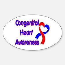 Congenital Heart Defect Decal