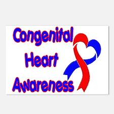 Congenital Heart Defect Postcards (Package of 8)