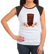 Tiki Time Women's Cap Sleeve T-Shirt